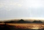 ©Anne Penman Sweet: 'Prairie' oil on gesso panel 40x60cm
