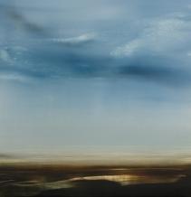 ©Anne Penman Sweet: 'Songlines' oil on gesso panel 60x60cm