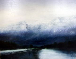© Anne Penman Sweet: 'The Second Valley' oil on canvas 120x150cm