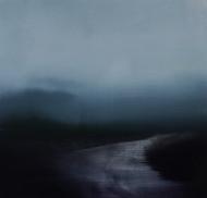 ©Anne Penman Sweet: 'Mysteria 5' oil on gesso panel 15x15cm