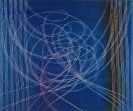 ©Anne Penman Sweet: 'Sonic Convergence' 120x150cm
