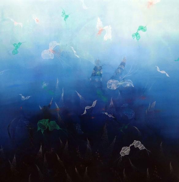 The Dive Dream 90x90cm copy