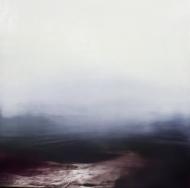 ©Anne Penman Sweet: 'The Lowlands III' oil on gesso panel 30x30cm