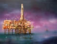 ©Anne Penman Sweet: 'The Magus' oil on canvas 120x150cm